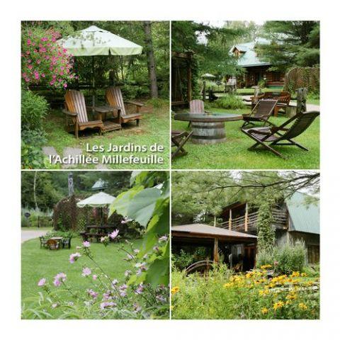 Les Jardins de L\'Achillée Millefeuille / Halte Santé